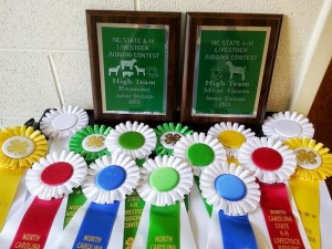 Cover photo for 4-H Livestock Judging Team Wins Awards