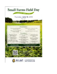 Cover photo for Small Farms Field Day