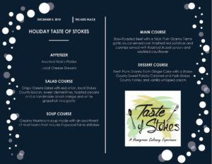 Cover photo for Holiday Taste of Stokes