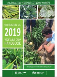Cover photo for Southeastern Vegetable Crop Handbook 2019 is Here!
