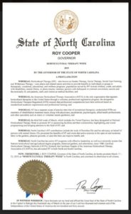 2019 Horticultural Therapy Week proclamation