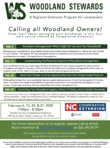 Cover photo for Woodland Stewards Webinar Series: Getting to Know Your Woodlands