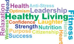 Healthy Living Word Scrammble