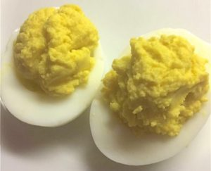 Cover photo for Olive Oil Deviled Eggs