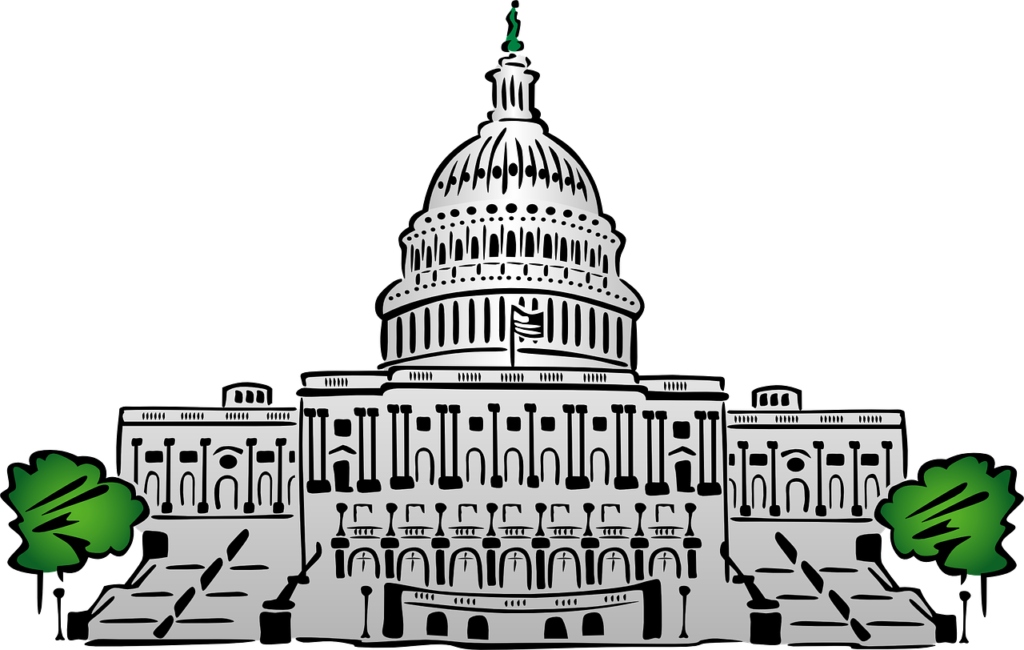 Drawing of the Capitol