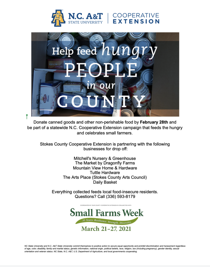 Help feed hungry people flyer image