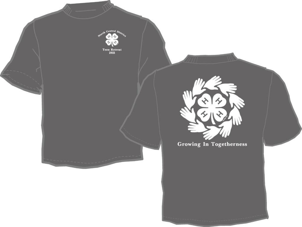 Teen Retreat shirt image