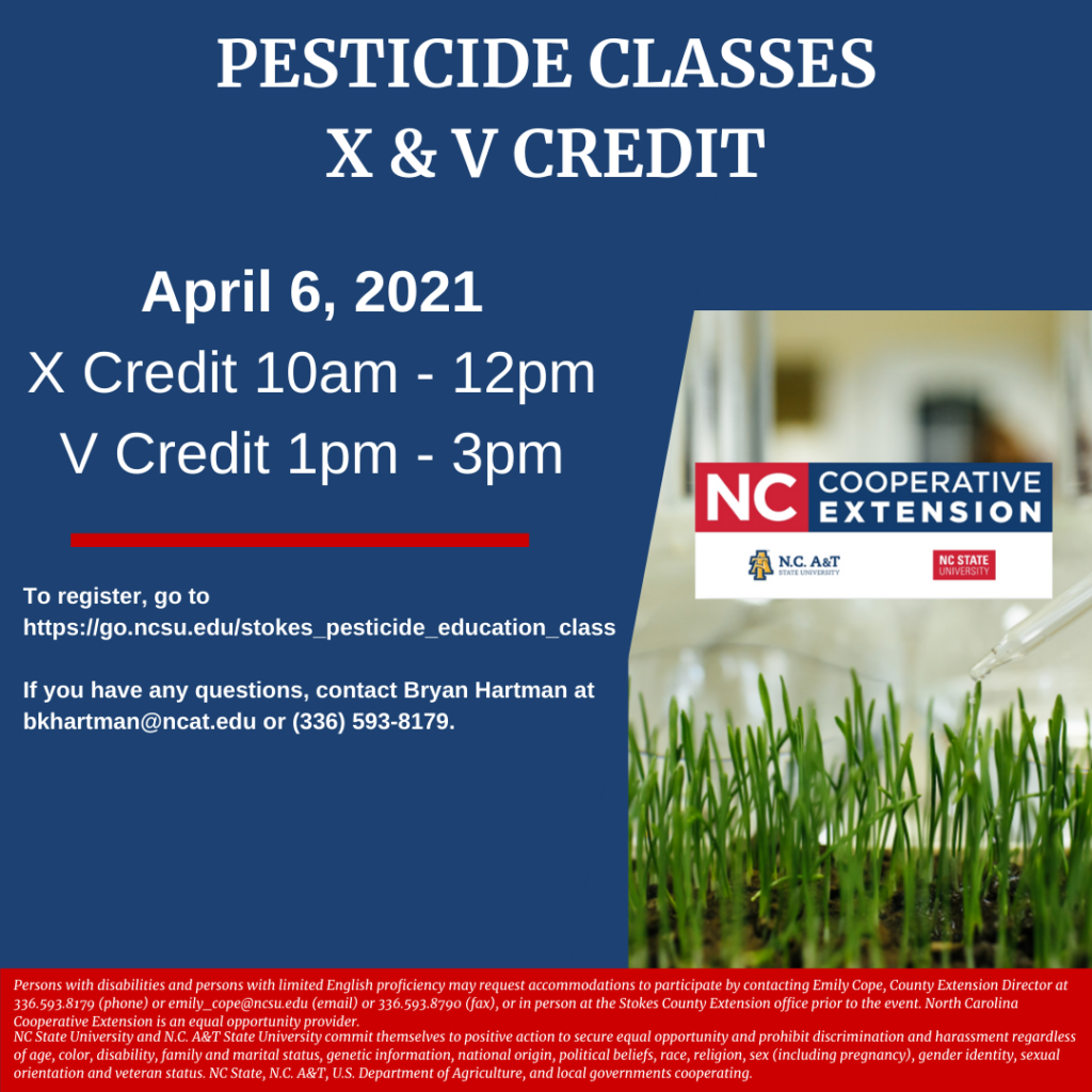 Pesticide Class flyer image