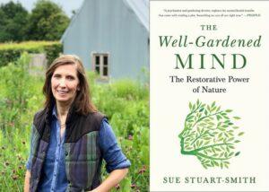 Sue Stuart-Smith & book cover
