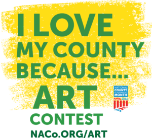Cover photo for I Love My County Because Art Contest