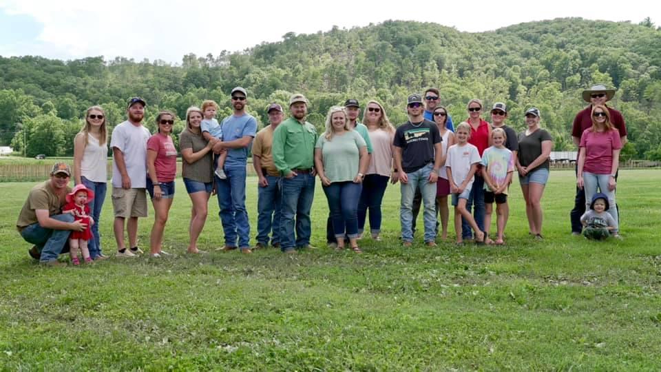 Group pf people looking at camera