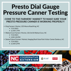 Cover photo for Presto Dial Gauge Pressure Canner Testing