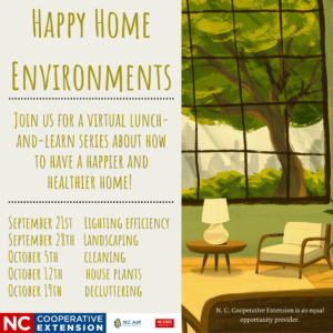 happy home environments event 2021