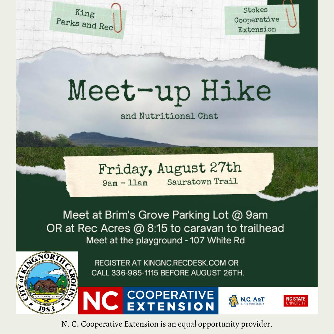 august 2021 meet-up hike