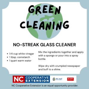 Cover photo for Green Cleaning: No-Streak Glass Cleaner