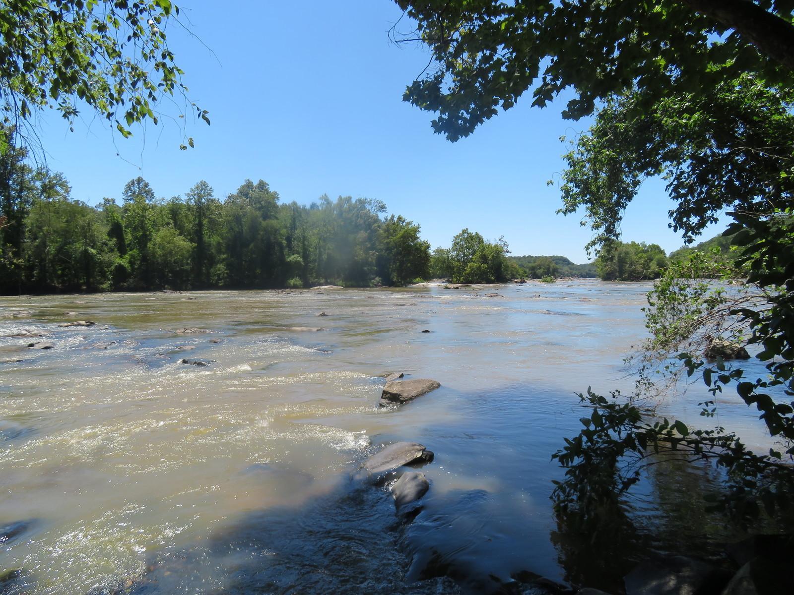 Yadkin River hike